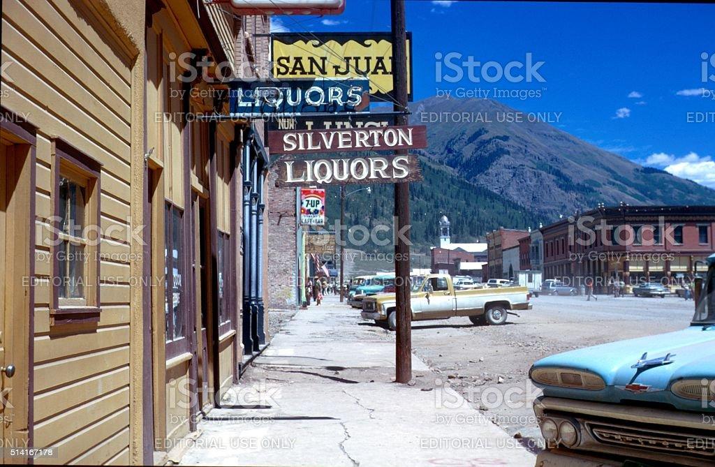 Silverton, Colorado stock photo