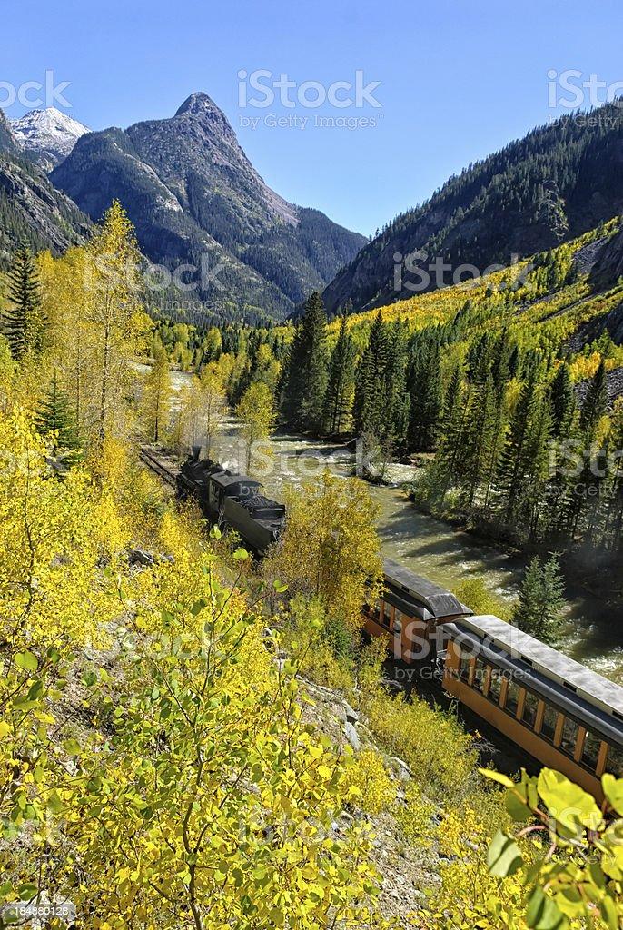 Silverton Durango Railroad royalty-free stock photo