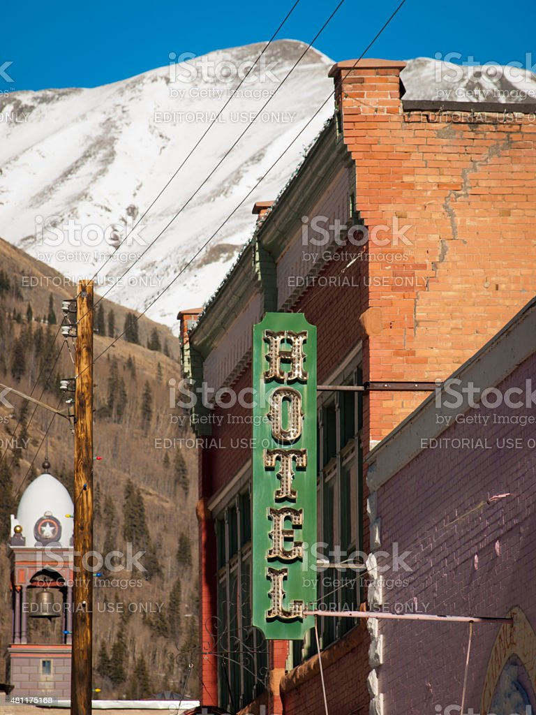 Silverton stock photo
