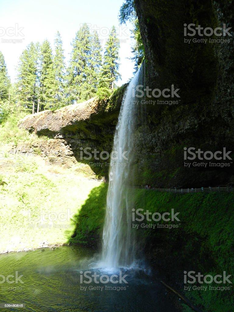 Silverton Waterfall stock photo