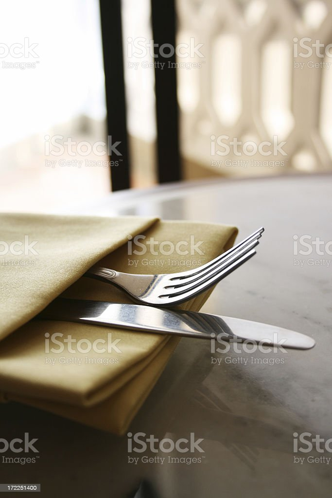 Silverware royalty-free stock photo