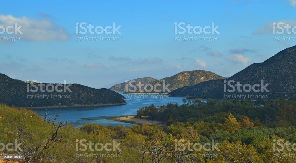 Silverwood Lake stock photo