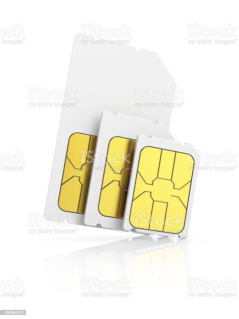 sim card stock photo