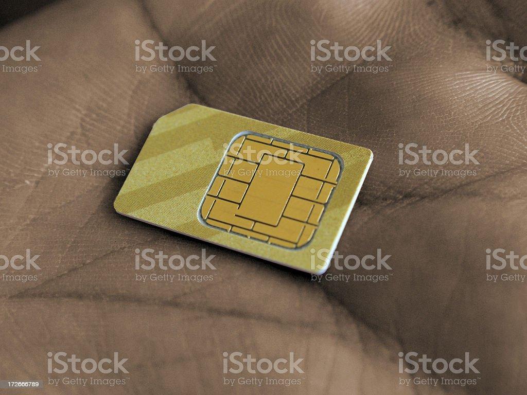 SIM Lizenzfreies stock-foto