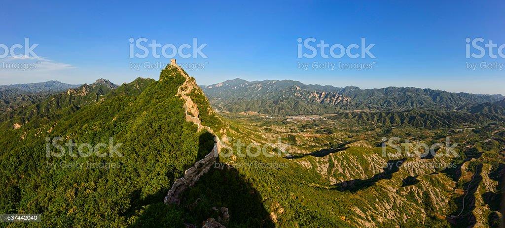 Simatai Great Wall stock photo