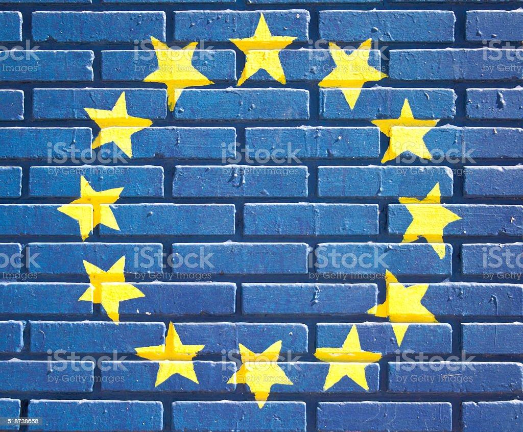 Simbol EU stock photo
