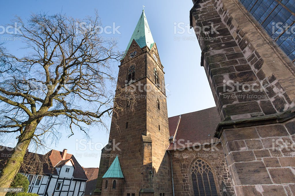 simeons church minden germany stock photo