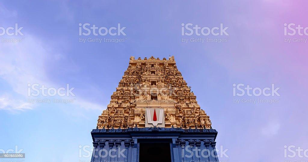 Simhachalam Hindu temple located in Visakhapatnam city suburb, India stock photo