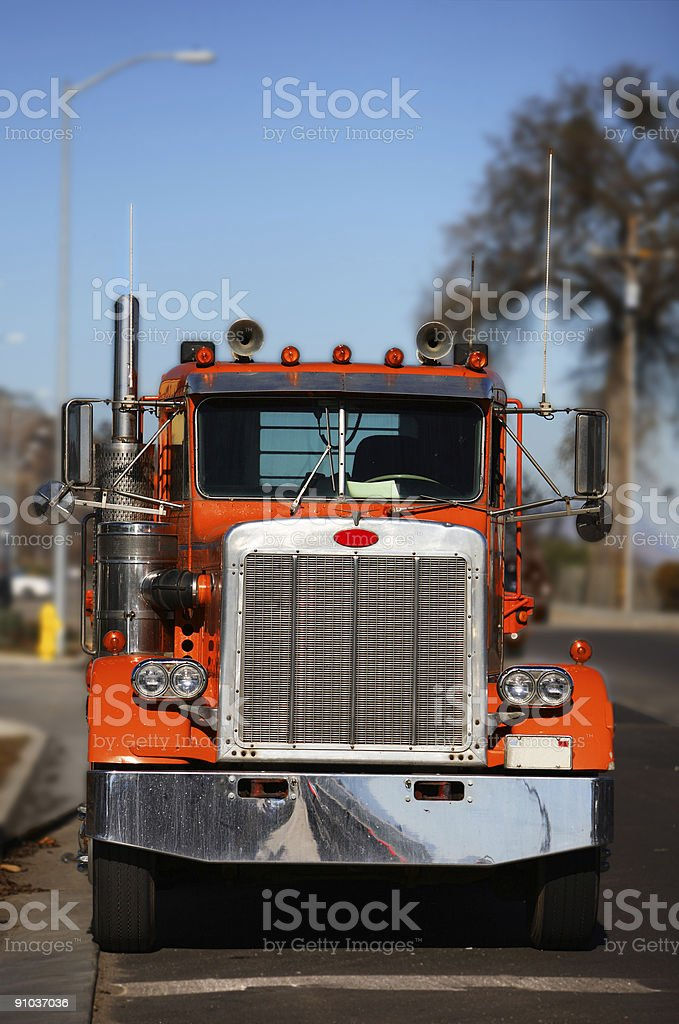 Simi Truck stock photo