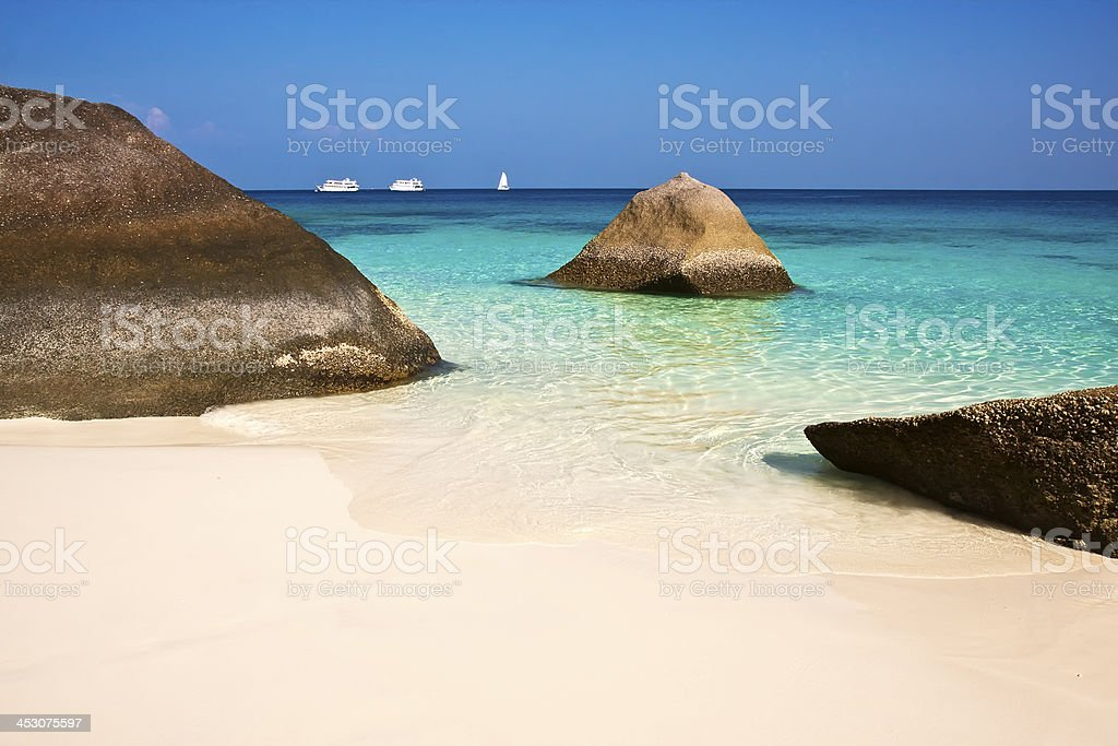 Similan islands, Thailand, Phuket. stock photo