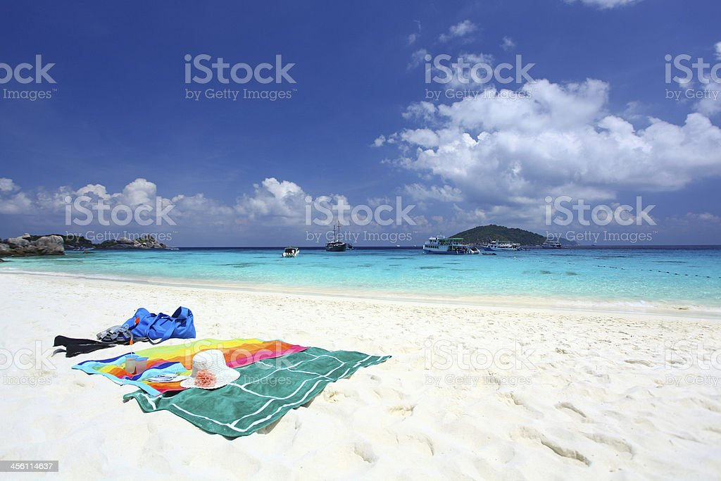 Similan Islands Thailand stock photo