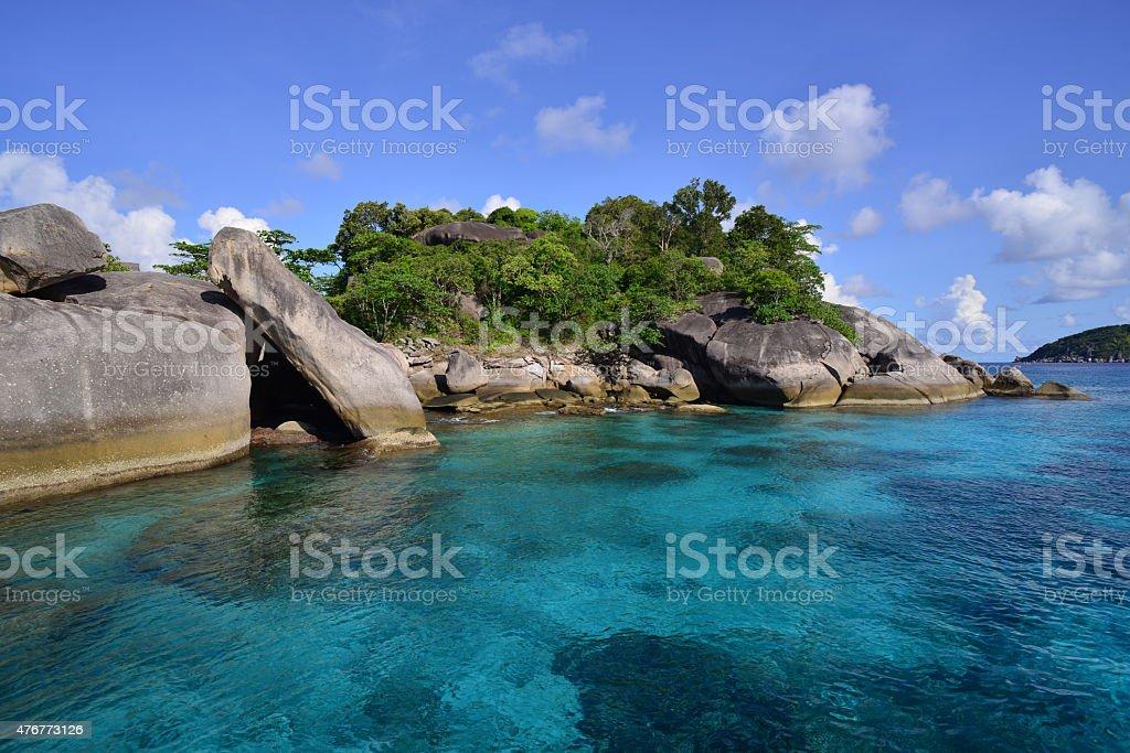 Similan Islands, Thailand. stock photo