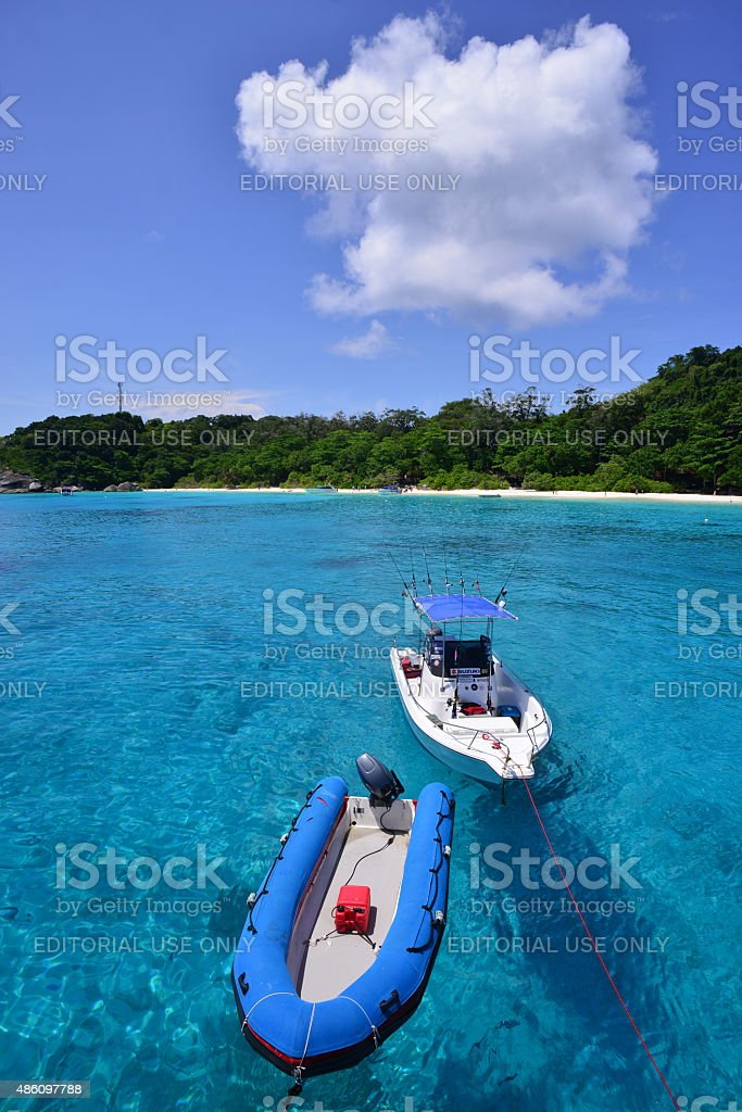 Similan Islands, Thailand. stock photo