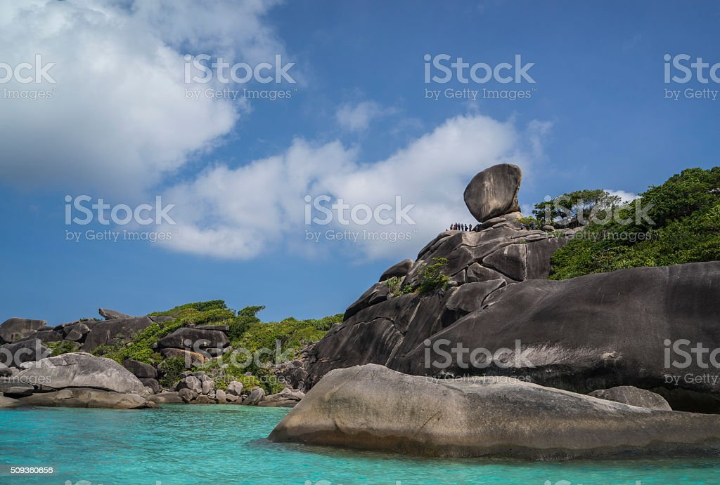 Similan National Park stock photo