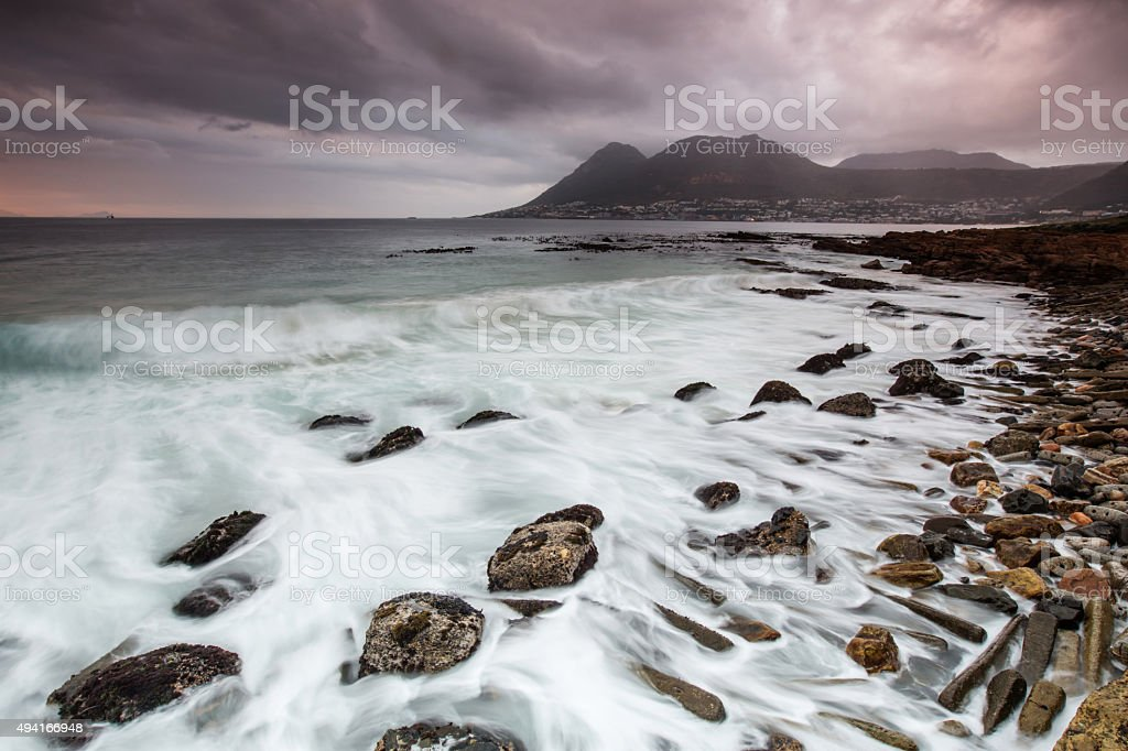 Simonstown Cape Town stock photo