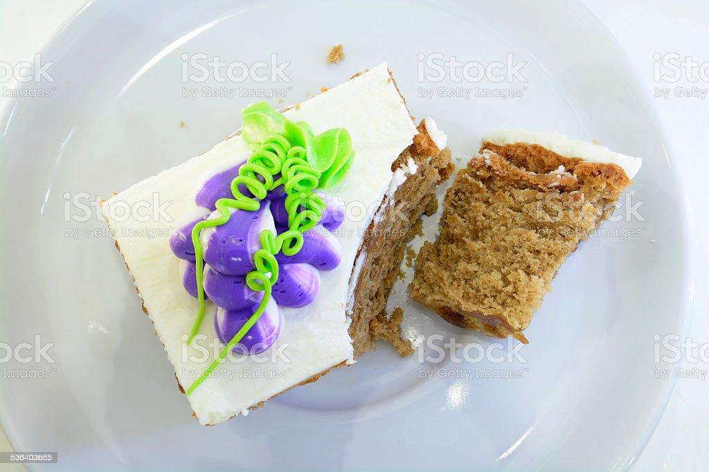 Simple Cake royalty-free stock photo