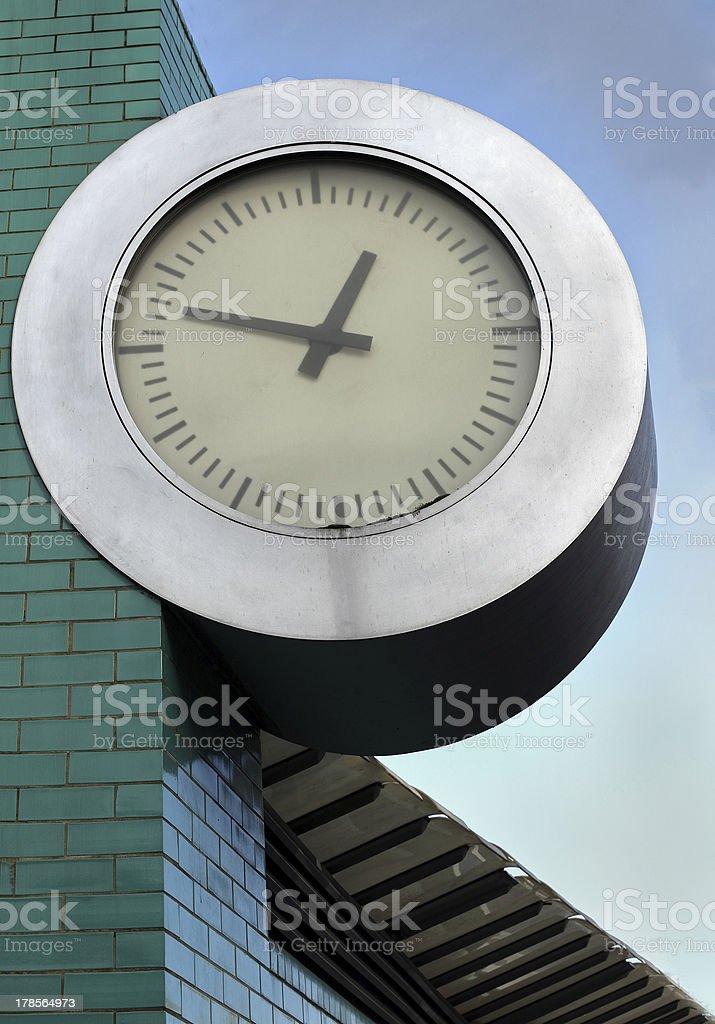 Simple clock royalty-free stock photo