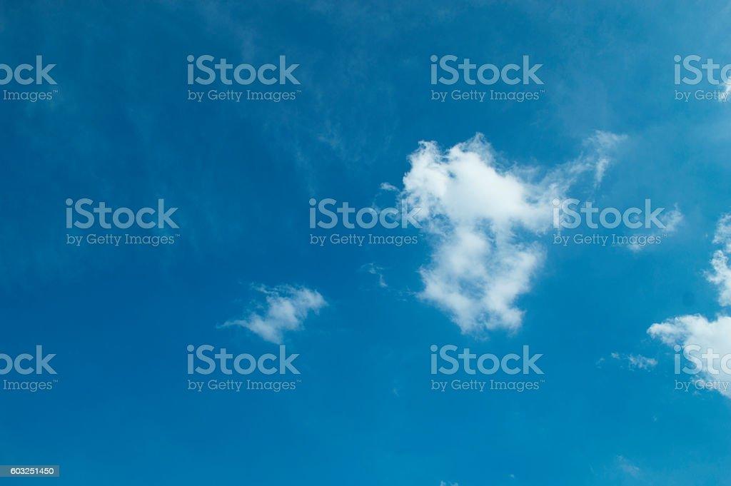 Simple cloud stock photo