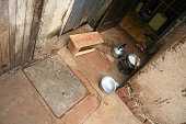 Simple Cooking Area in a House - Jinja Town in Uganda