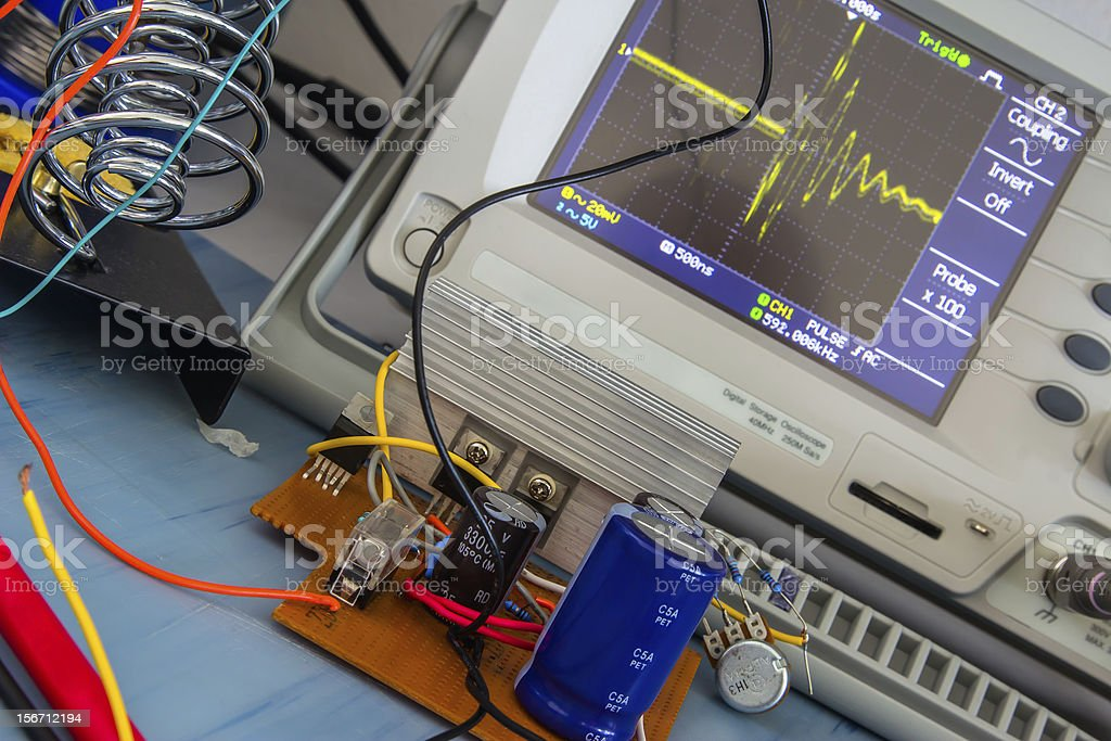 simple DC/DC converter royalty-free stock photo