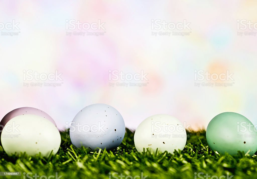 Simple Easter Background royalty-free stock photo