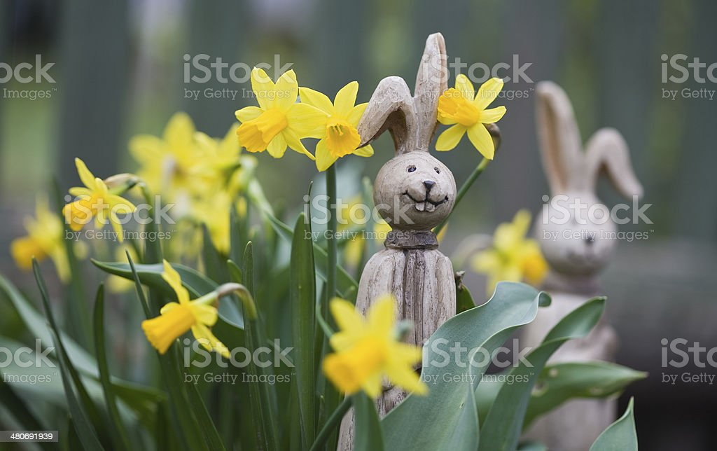 simple Easter Bunny, stock photo