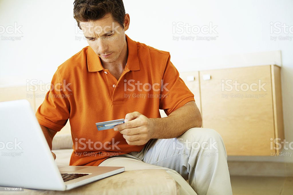 Simple, easy and effective - Online Transactions royalty-free stock photo