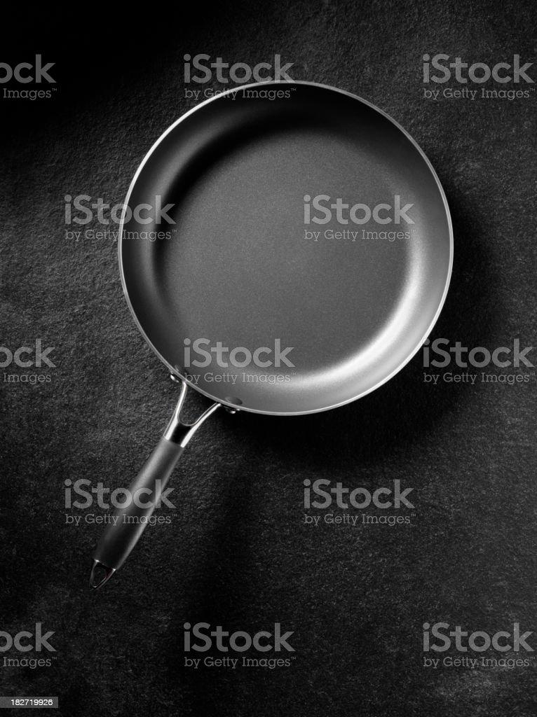 Simple Frying Pan stock photo