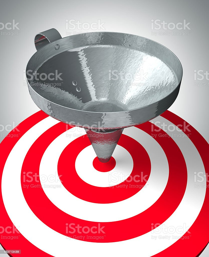 Simple goal royalty-free stock photo
