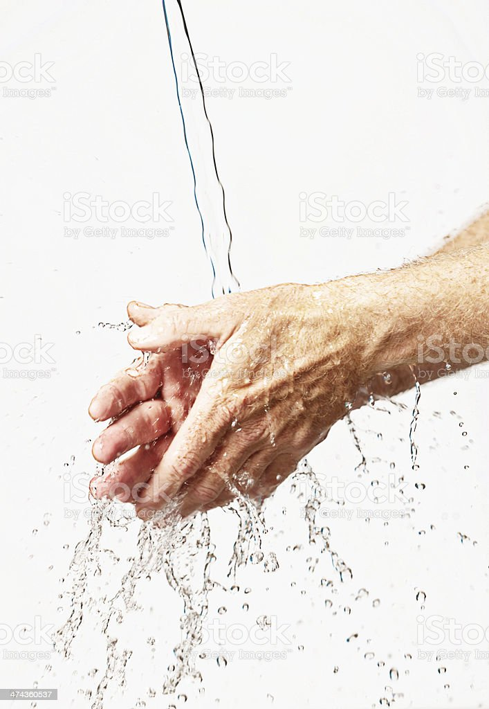 Simple handwashing can save lives! royalty-free stock photo
