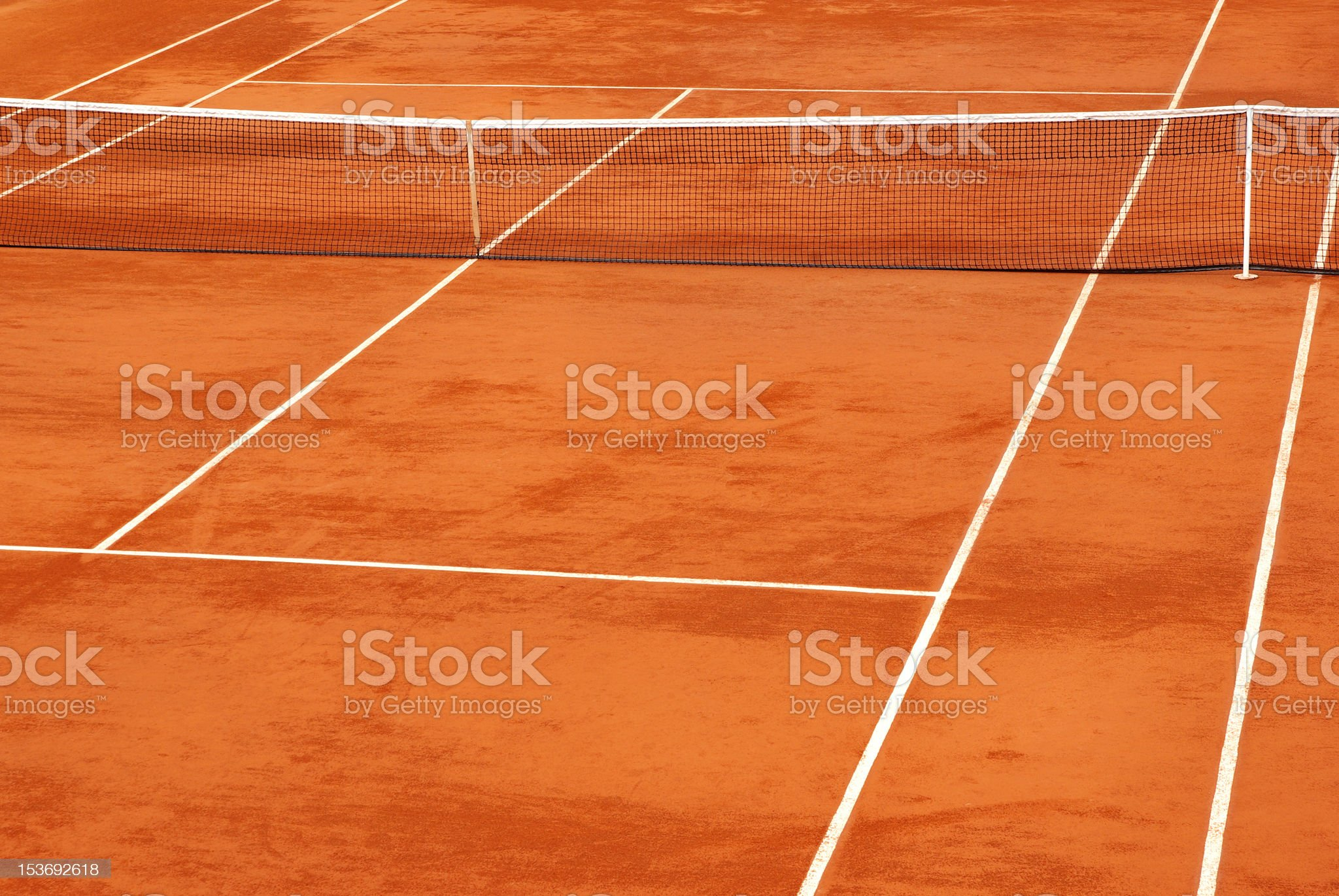 Simple image of a tennis base royalty-free stock photo