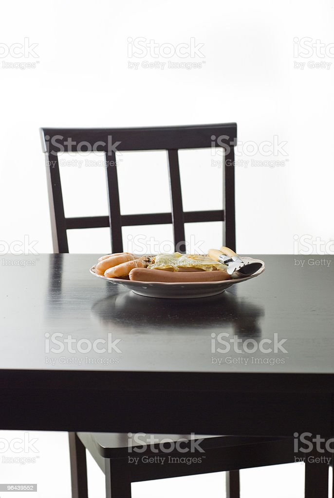 Simple meal royalty-free stock photo