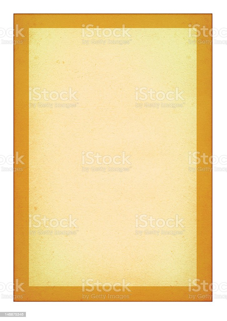 simple old paper page royalty-free stock photo
