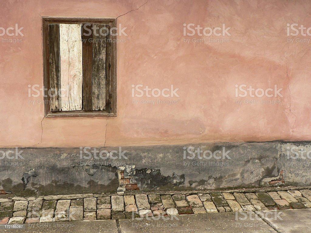 Simple Pastel Wallscape royalty-free stock photo