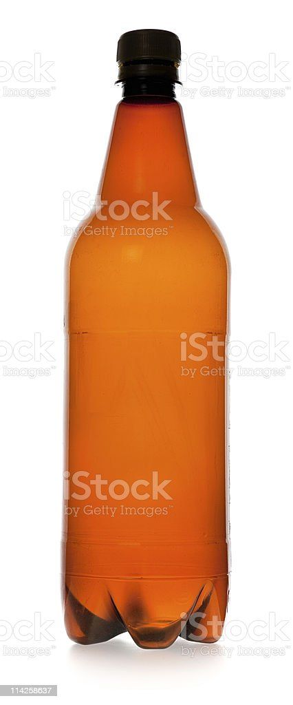 simple plastic bottle royalty-free stock photo