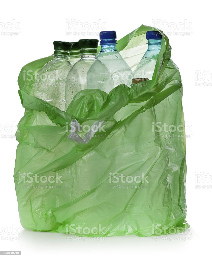 simple plastic bottles royalty-free stock photo