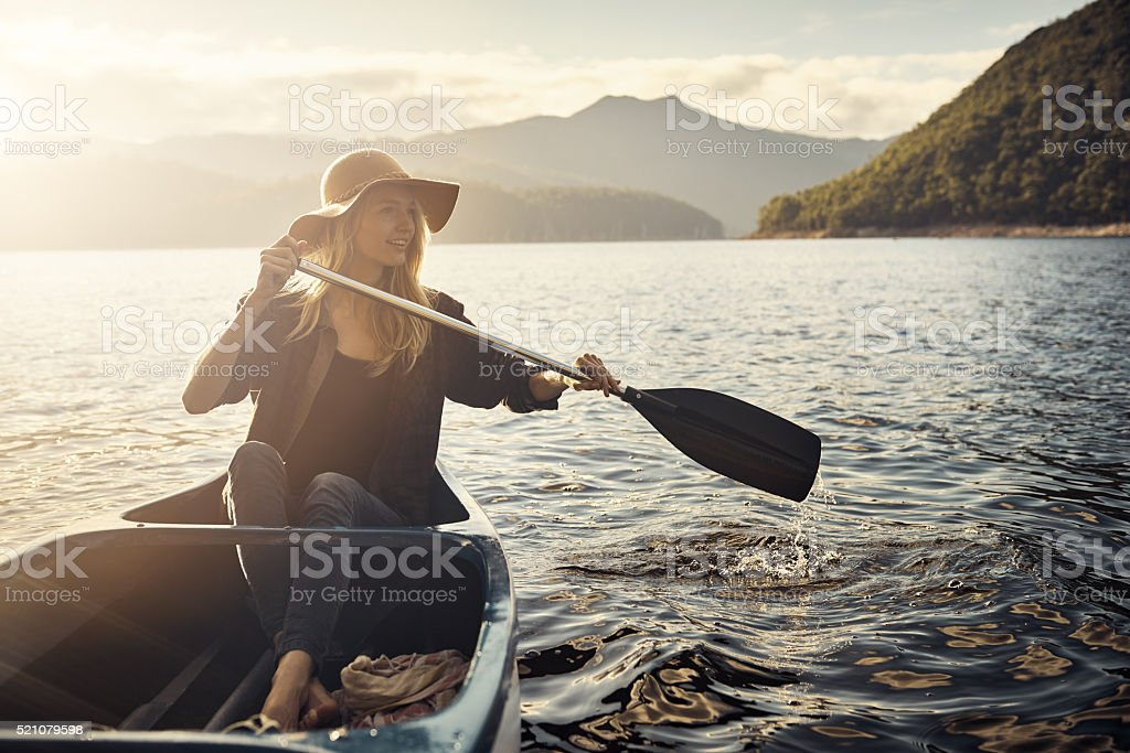 Simple pleasures that nature has to offer stock photo