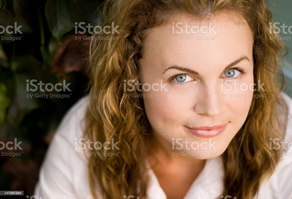 Simple portrait royalty-free stock photo