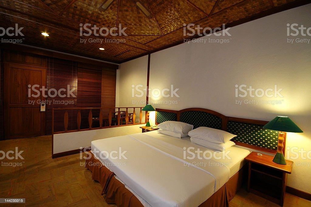 Simple Resort Room royalty-free stock photo