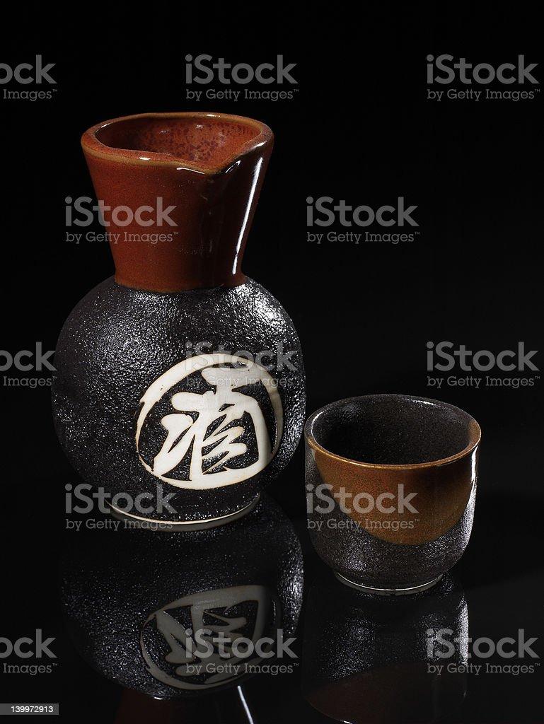 Simple Sake stock photo