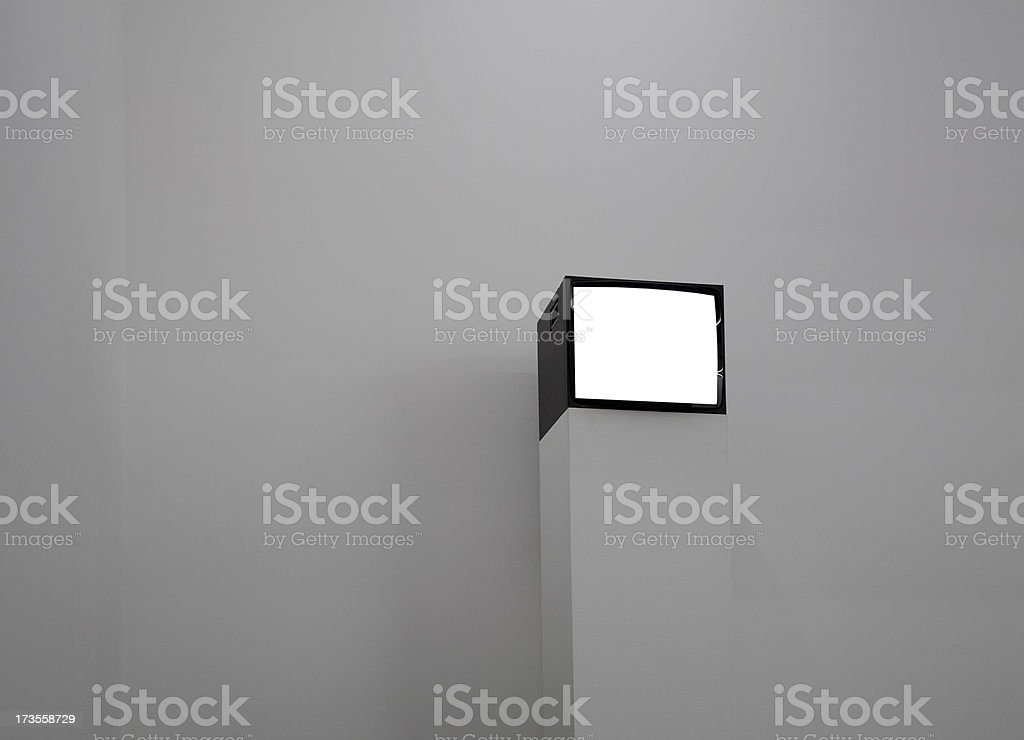 simple television stock photo