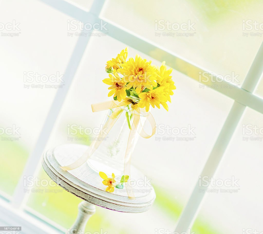 Simple Thanksgiving Bouquet stock photo