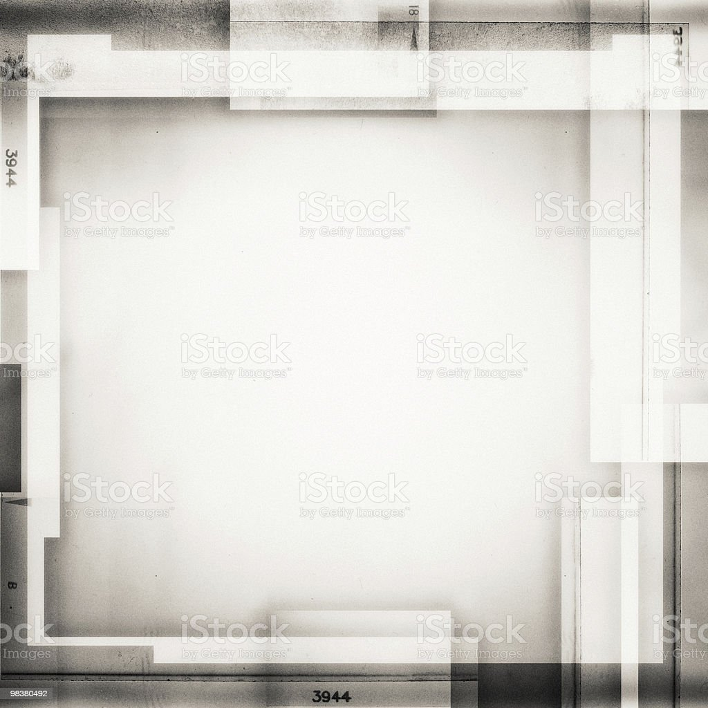 Simple white collage background royalty-free stock photo