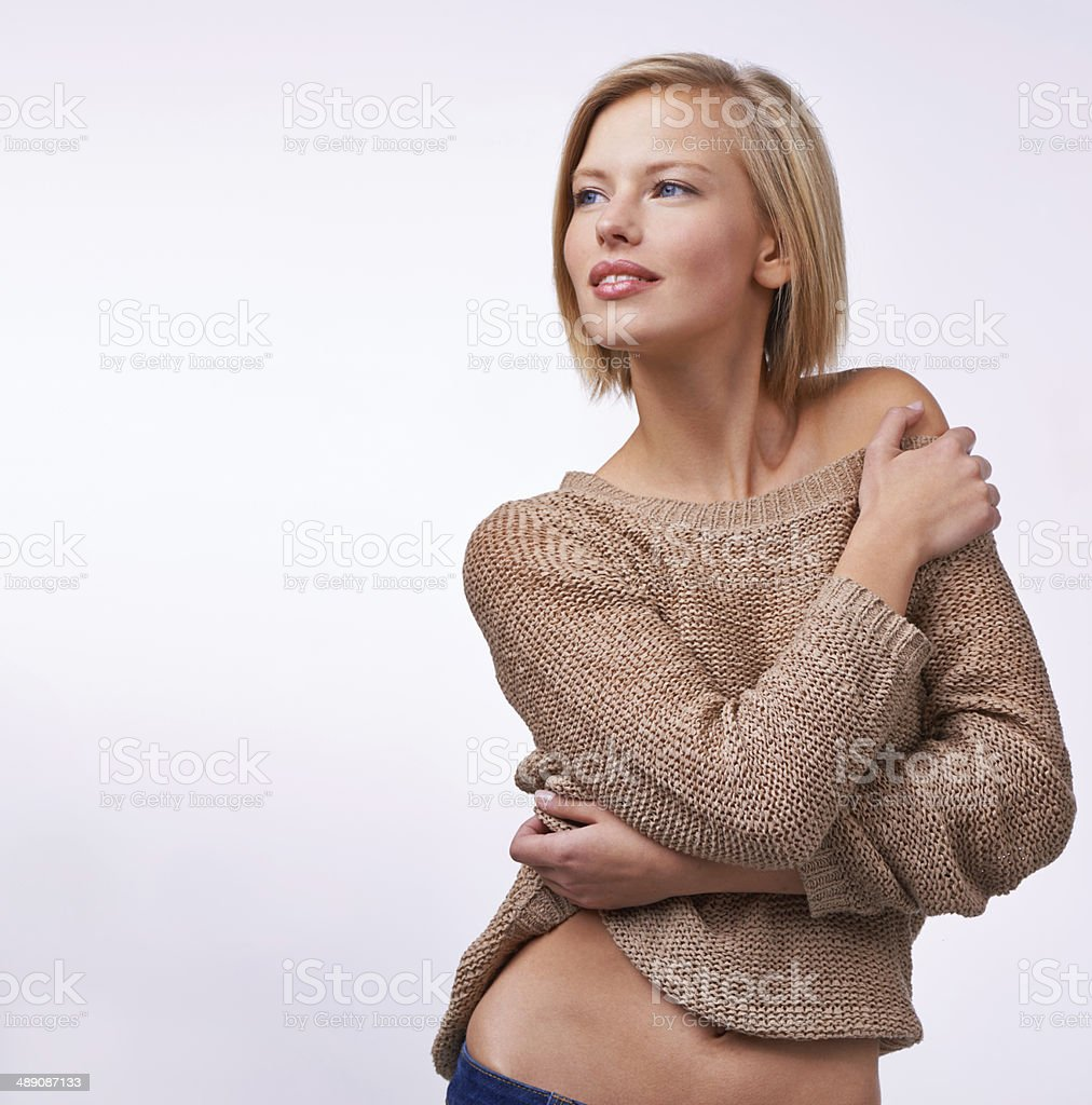 Simplicity in style stock photo