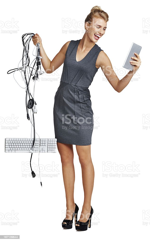 Simplifying the workplace stock photo