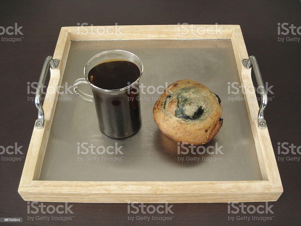 simply breakfast royalty-free stock photo