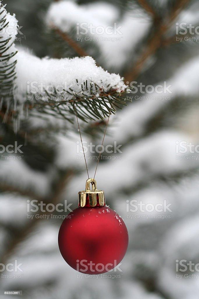 Simply Christmas royalty-free stock photo
