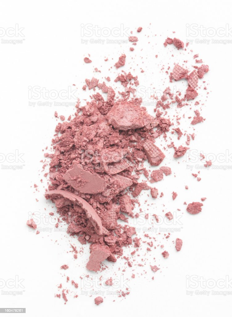 Simply Crushed Makeup royalty-free stock photo