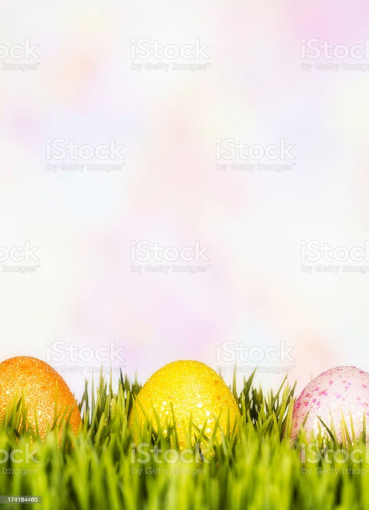 Simply Easter with Copy Space royalty-free stock photo
