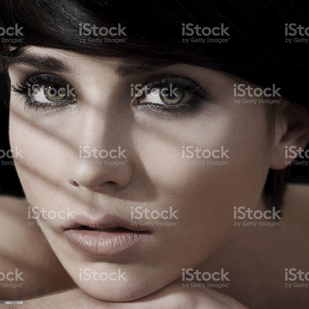 Simply flawless femininity stock photo